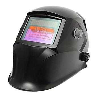 Generic Casco de la soldadura del oscurecimiento auto de la soldadura elÃctrica negra de la máscara del soldador del soldador: Amazon.es: Industria, ...