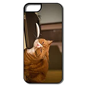 Make Your Own Cool Hard Plastic Snow Proof Yellow Cat Iphone 5 Cases