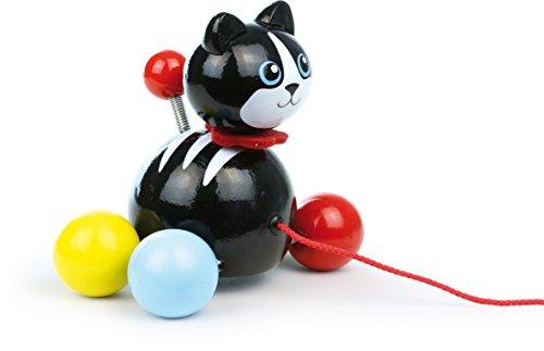 Vilac 12.5 x 7 x 13cm Filou The Cat Pull Along Toy
