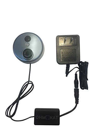 OhmKat Video Doorbell Power Supply - Compatible with Skybell HD - Needs No Existing Wiring - Transformer, Adapter, Power Kit & Supply All In One