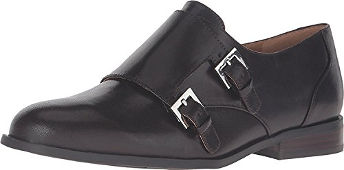 West Leather Oxfords Flats Brown Dark Womens Toastie Nine S4dq77