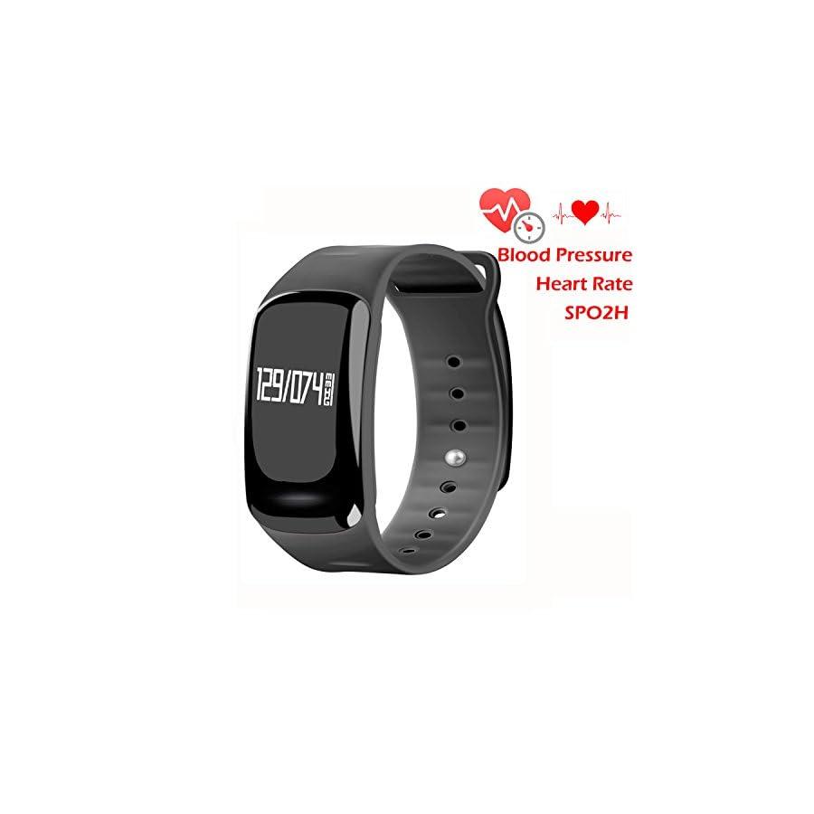 HOMESTEC Blood Pressure Bracelet Fitness Tracker