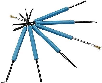 1pcs Mcottage D/ésoudage Aide Outil Set Carte Circuit Soudure Aide PCB Nettoyage Kit R/éparation Fluxage Outils