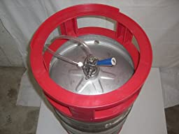 Beer Keg Series Spacer Stacker for Easy Storage and Tapping of Beer Kegs