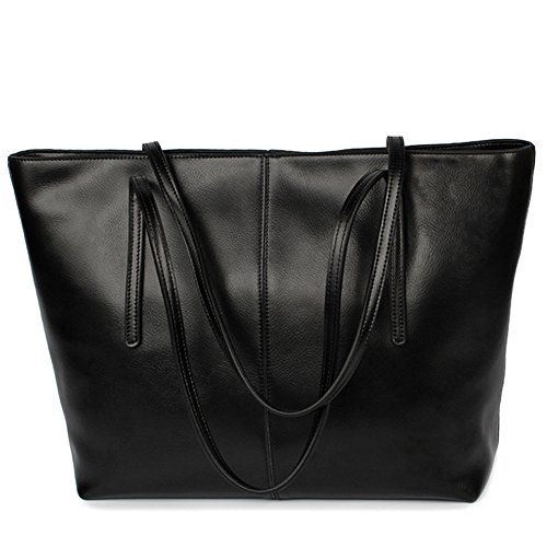 Ragazza GAVERIL Borsa Pelle Donna Tracolla Nero da Elegante Vera Borsa In Modello Blu Donna Spalla gcCgfBq
