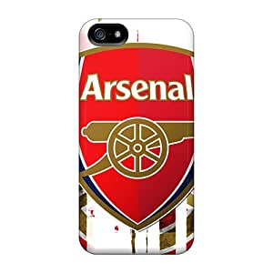 Shock Absorption Hard Cell-phone Cases For Iphone 5/5s With Custom Nice Arsenal Pictures JasonPelletier