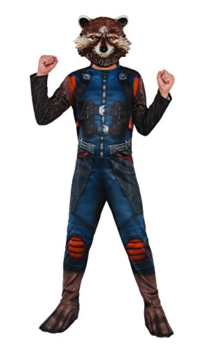 Rubie's Costume Guardians of the Galaxy Vol. 2 Rocket Raccoon Costume, Multicolor, Large (Raccoon Costumes)