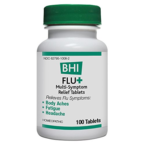 BHI Flu + Muli-Symptom Relief Tablets, 100 Count