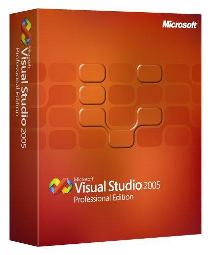 Microsoft Visual Studio Professional 2005 Upgrade [OLD VERSION]
