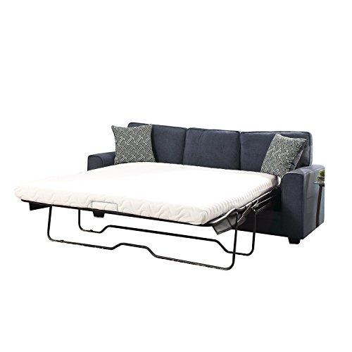 Acme Furniture 52294 Catherine Loveseat Sleeper, Blue