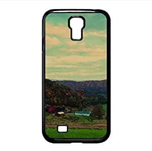 Farm Autumn Watercolor style Cover Samsung Galaxy S4 I9500 Case (Autumn Watercolor style Cover Samsung Galaxy S4 I9500 Case)
