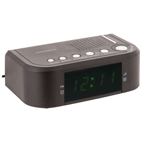 Insignia AM/FM Clock Radio (NS-CCLOPP3-C) - Black 4330975999