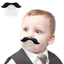 Yunchuang Mustache Baby Infant Pacifier Orthodontic Gadget Nipples Beard