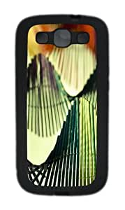 Rings 2 Custom Design TPU Samsung Galaxy S3 Case and Cover - Black