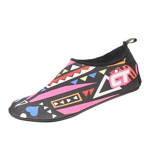 Gaorui Summer Barefoot Skin Shoes Aqua Sport Acquatici Calzini Scarpe Da Ginnastica Beach Swim Rosso