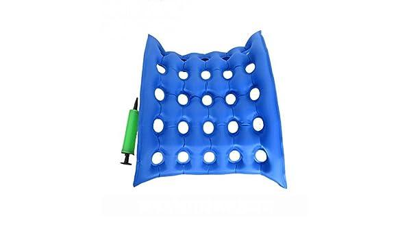ZW agujeros rectangulares médico cojín de asiento en silla de ...