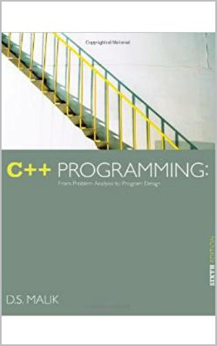 Download C++ Programming From Problem Analysis to Program Design. Pdf