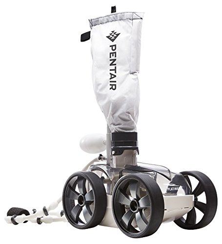 Legend Cleaner Pool Platinum (Pentair LL505PMG Kreepy Krauly Platinum Pressure-Side Inground Automatic Pool Cleaner, Gray)