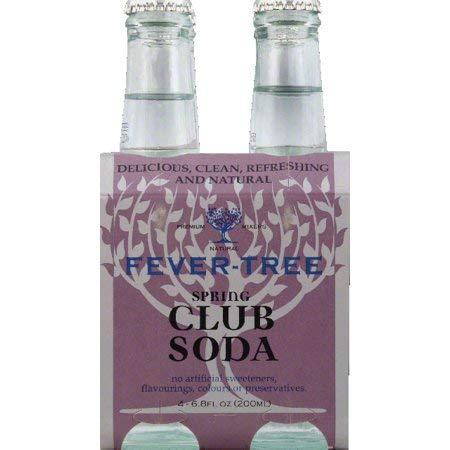 Fever-Tree Club Soda, 4-pack