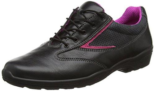 """ejendals 1122–39tamaño 39""""jalas Stella 1122Seguridad Low–Zapatillas, color negro y rosa"""