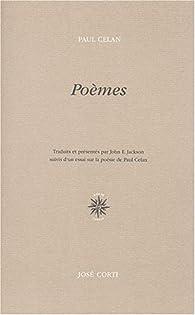 Poèmes (édition bilingue français / allemand) par Paul Celan