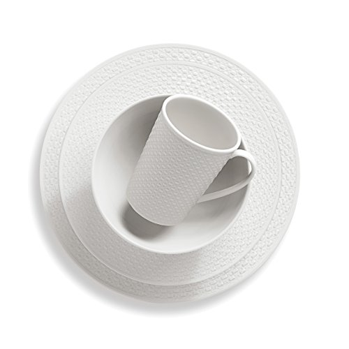 Lenox 4-Piece Entertain 365 Surface Round Place Setting, White