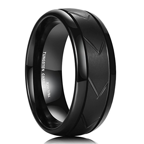 King Will Tungsten Brushed Polished