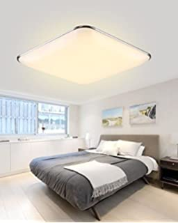 SAILUN 18W Warmweiss Ultraslim LED Deckenleuchte Modern Deckenlampe Flur Wohnzimmer Lampe Schlafzimmer Kche Energie Sparen Licht