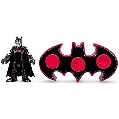 Fisher-Price Imaginext DC Super Friends, R/C Transforming Batbot: Toys & Games