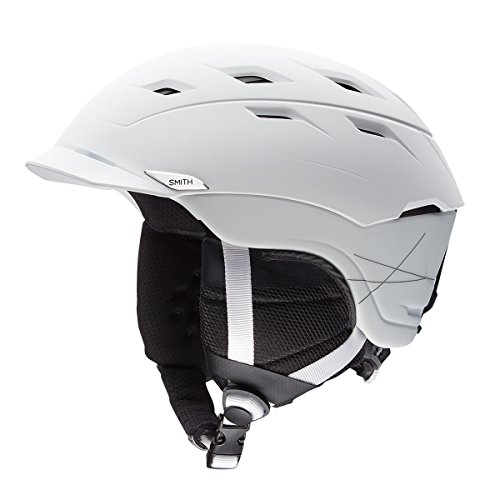 Smith Optics Unisex Adult Variance Snow Sports Helmet - Matte White Small (51-55CM) by Smith Optics