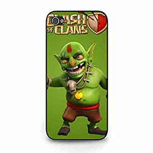 Phone Cover iPhone 5c War Strategy Clash of Clans funda Skin Popular Cellphone Game Clash of Clans Back Cover