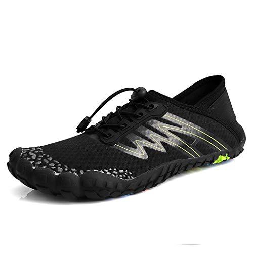 4c4f85f0f8876d Women Men Water Shoes Quick Dry Barefoot Sports Aqua Durable Outsole Shoes  for Swim Beach Aerobics