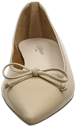 Beige Nat Closed nude Ballet Toe Women's LK Flats BENNETT 191 Cici wO180