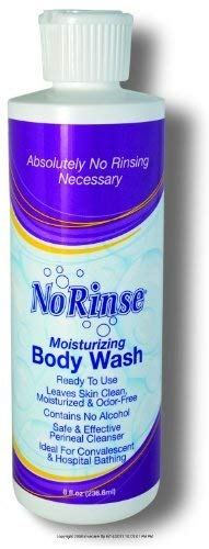 No Rinse® Body Wash-Packaging: 8 fl oz Bottle - UOM = Case of 24 by Clean Life Products (Image #1)