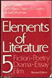 Elements of Literature Five, Robert Scholes, 0195030702