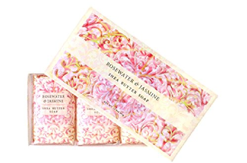(Greenwich Bay Trading Co. Shea Butter Soap, 12.9 Ounce, Rosewater & Jasmine, 3)