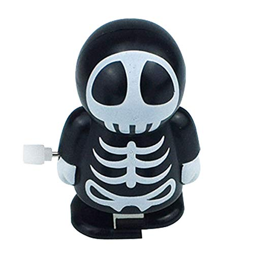 Liping Halloween Clockwork Gift Wind Up Mummy Ghost Bounce Toy Educational Scented Stress Reliever Toy Gift Toys -