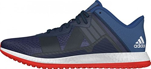 adidas Pure Boost ZG, Sneaker Uomo Bianco-rosso-blu Marino