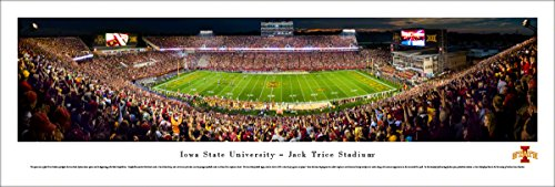 Iowa State Football - 50 Yard  - Blakeway Panoramas Unframed College Sports Posters