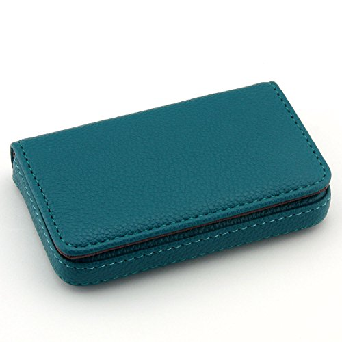Flip Style Leather Business Card Wallet