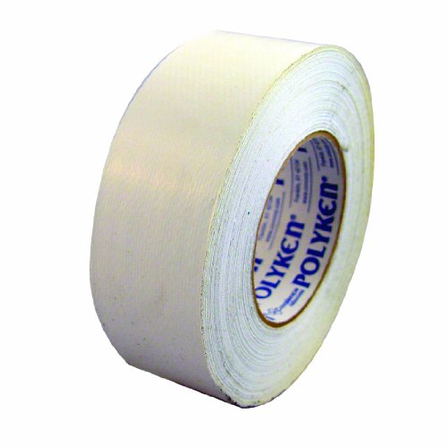 Polyken 203WHITE Economy Grade Duct Tape, 180-Feet by 2-Inch, -