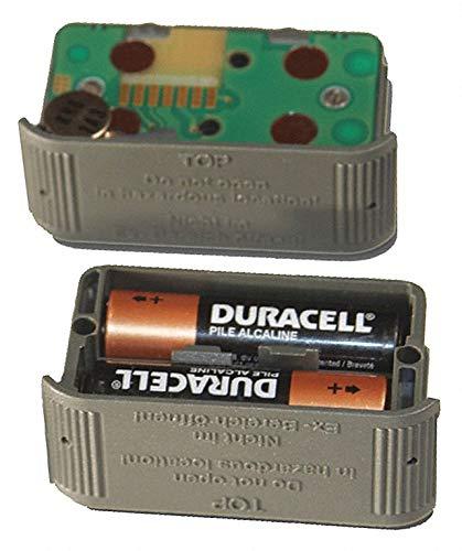 3V Alkaline Alkaline Battery Pack, Gray, 1 EA