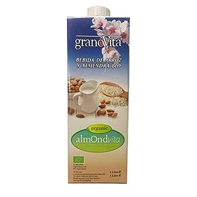 Granovita Bebida de Arroz y Almendras - 1000 ml (Pack de 10)