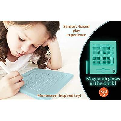 Kid O PlayMonster Glow-in-The-Dark Jumbo Magnatab: Toys & Games
