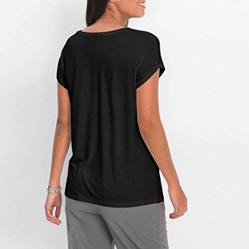 Damen Rüschen Sommer T-Shirt Top Kurzarm Schulterfrei Oberteile Blusen Trägertop