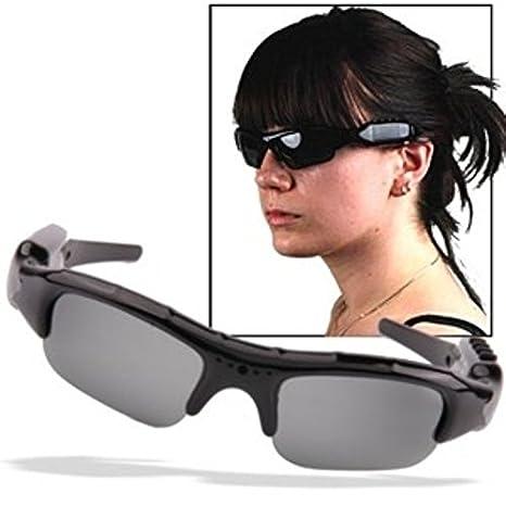 Sarah shopping Gafas de sol con cámara y cámara incorporados ...