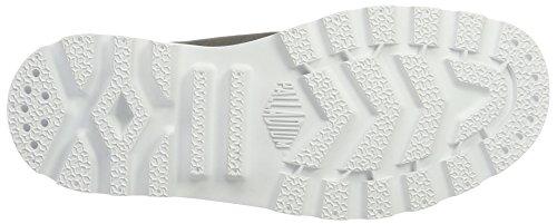 White Hi Metal Unisex White Grey Adults' Palladium Blanc Slippers zZqwfaR
