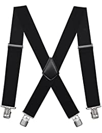 Mens Suspenders X-Back 2