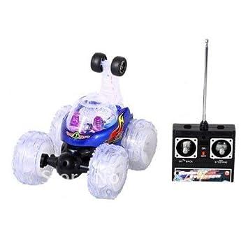 Turbo Twister Radio Control Stunt Car with Lights: Amazon.es: Juguetes y juegos
