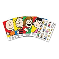 Eureka Peanuts Characters and Motivational Phrases Bulletin Board Sets